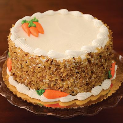 Carrot Cake With Spice Filling